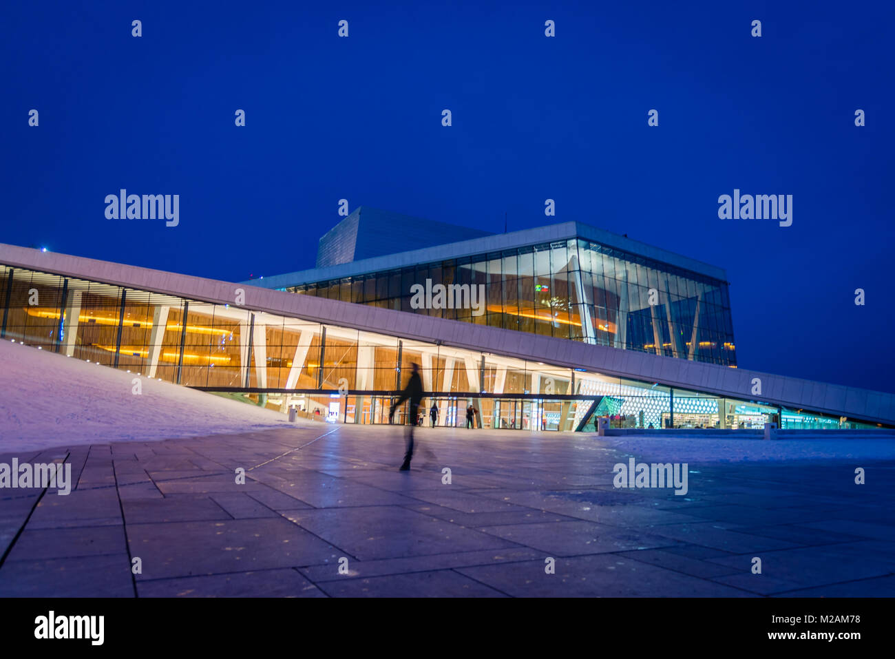 Oslo Opera House, Oslo - Stock Image