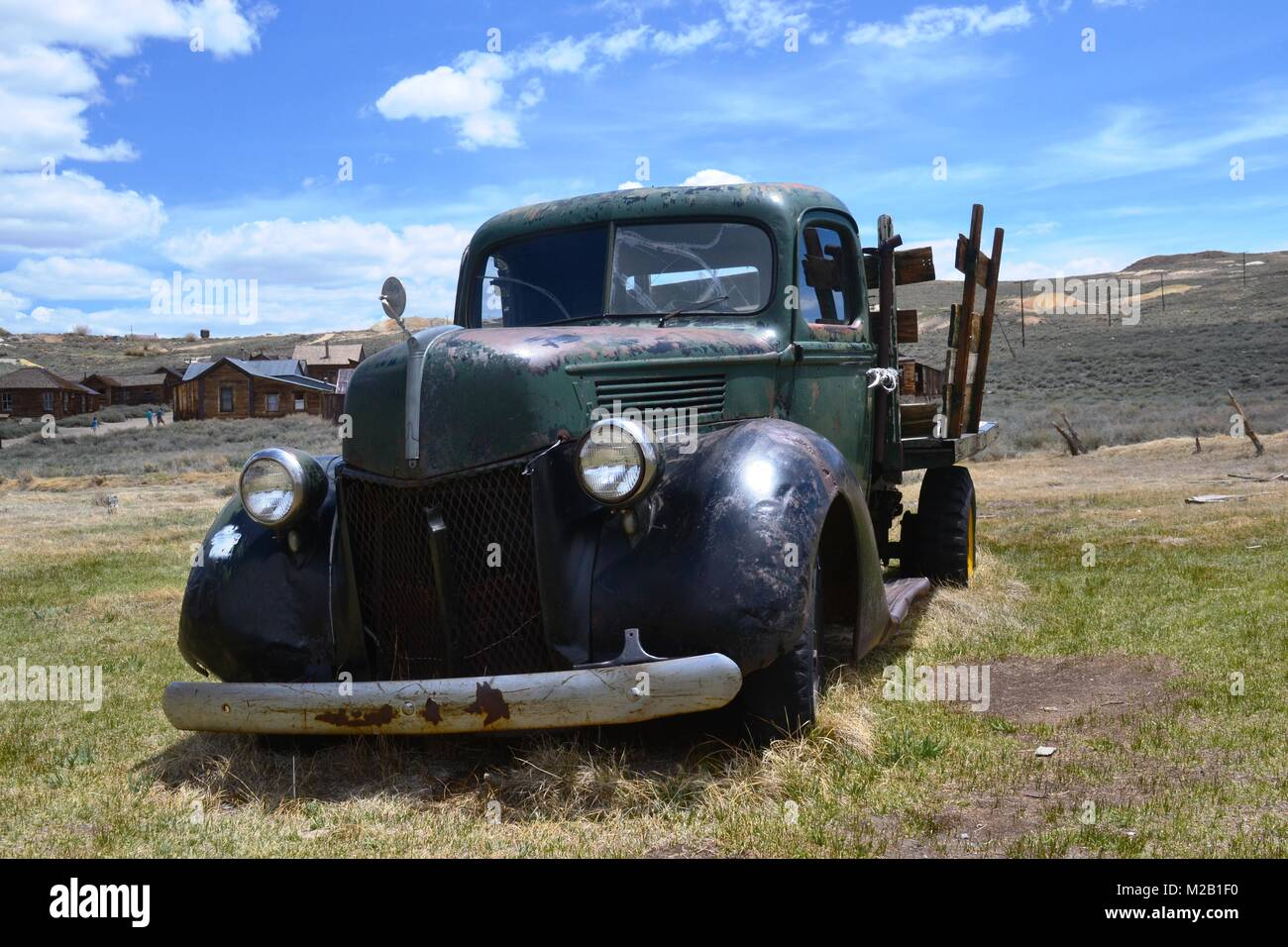 Truck of the fiftieth, Fotographed in Ghosttown Bodie - Stock Image