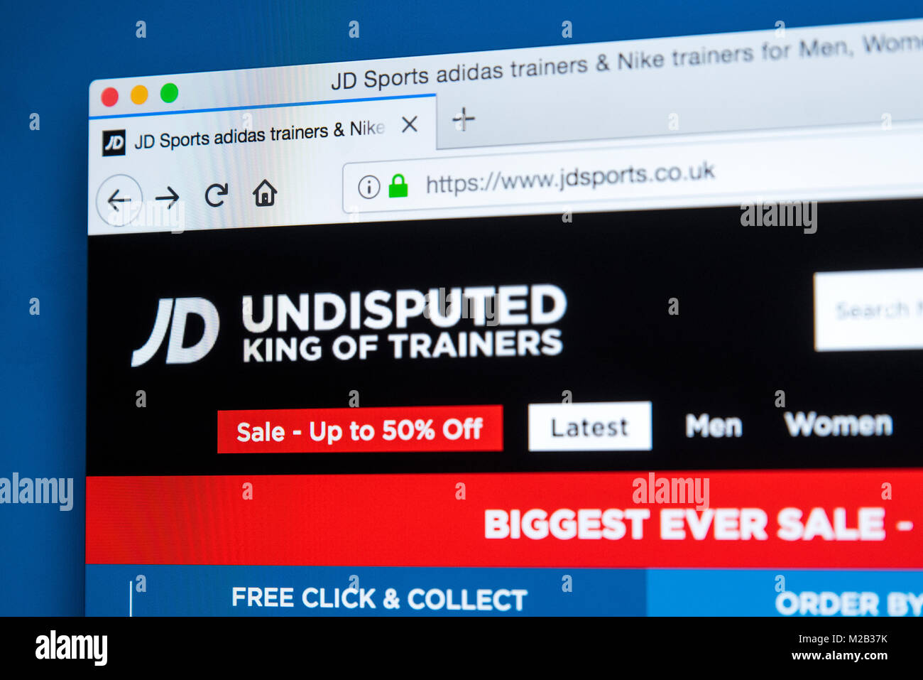Jd Sports Store Uk Stock Photos & Jd Sports Store Uk Stock