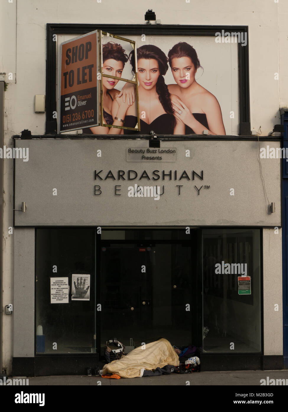 not so Kardashian beauty - Stock Image