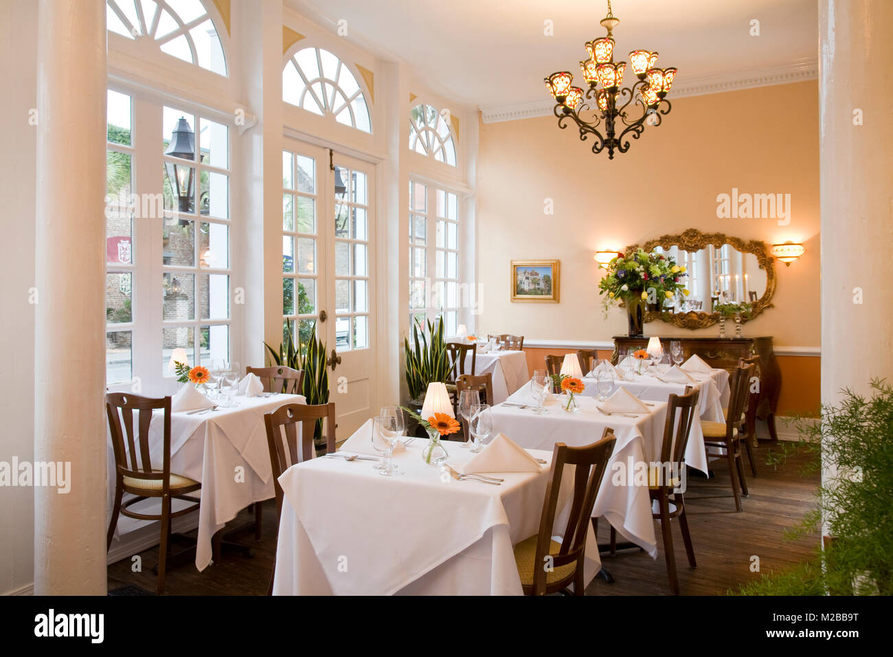 Vendue Inn,Charleston,South Carolina - Stock Image