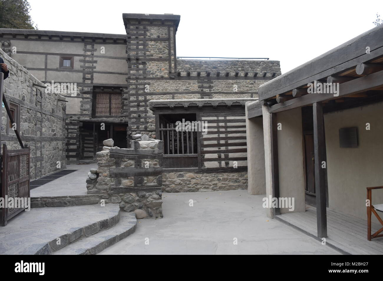 Shigar Fort Stock Photo