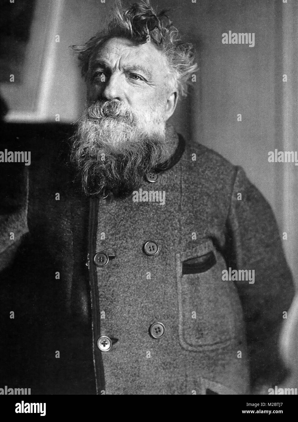 AUGUSTE RODIN (1840-1917) French sculptor - Stock Image