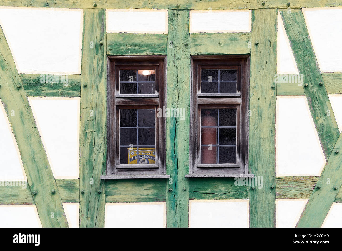 Old half-timbered house,Germany - Stock Image