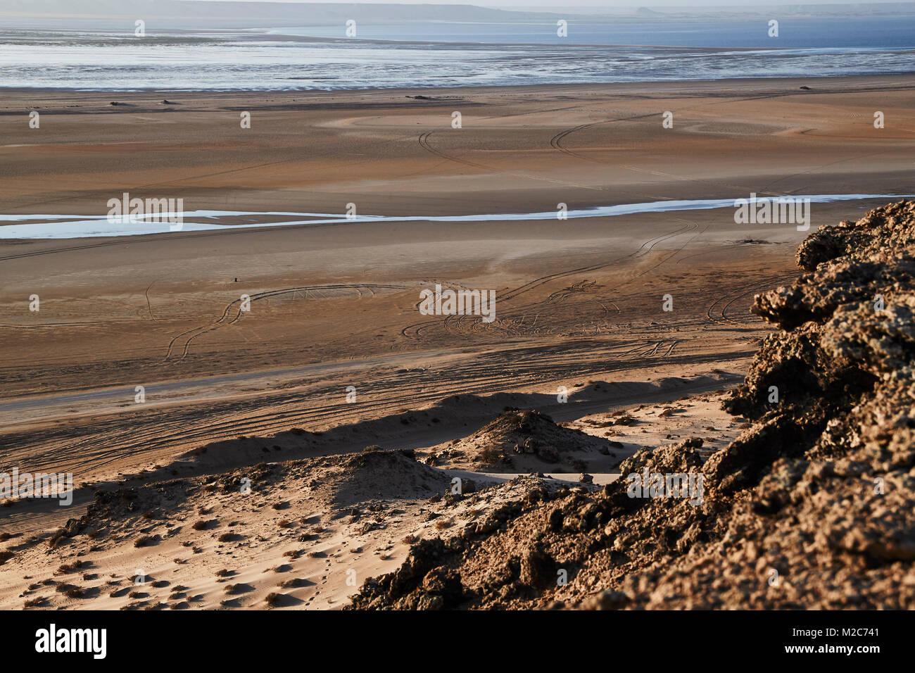 Water in the desert - Stock Image