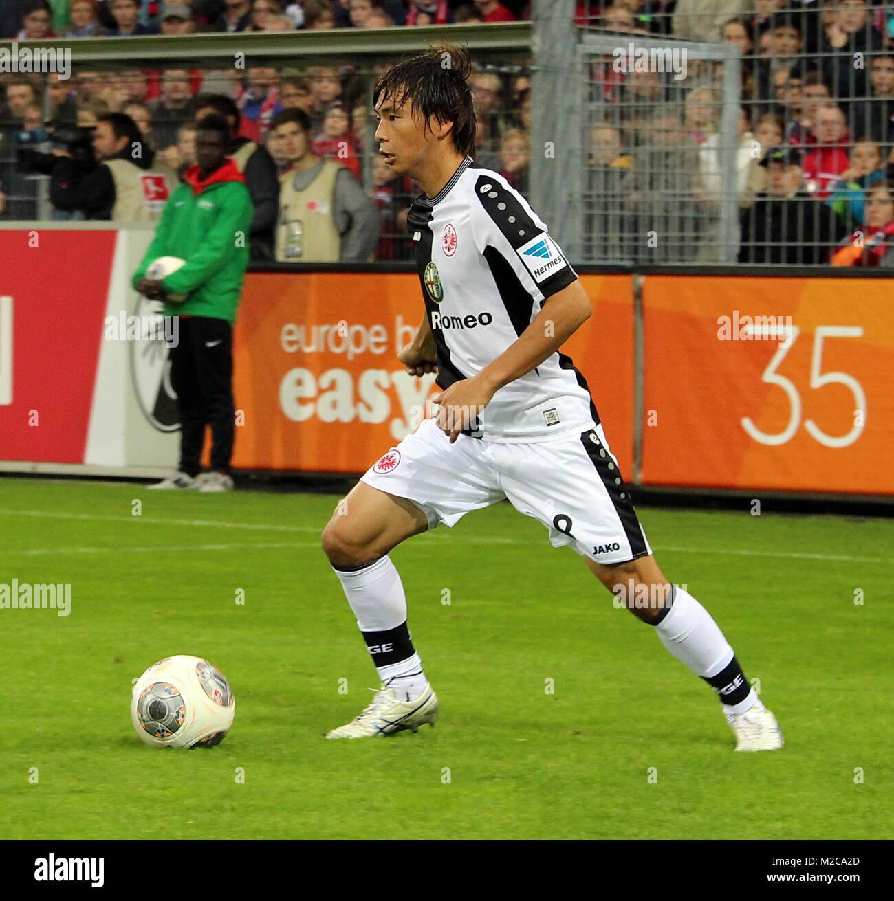 Takashi INUI, Spieler Eintracht Frankfurt - Fußball-Bundesliga: 8. Spieltag, SC Freiburg vs. Eintracht Frankfurt - Stock Image