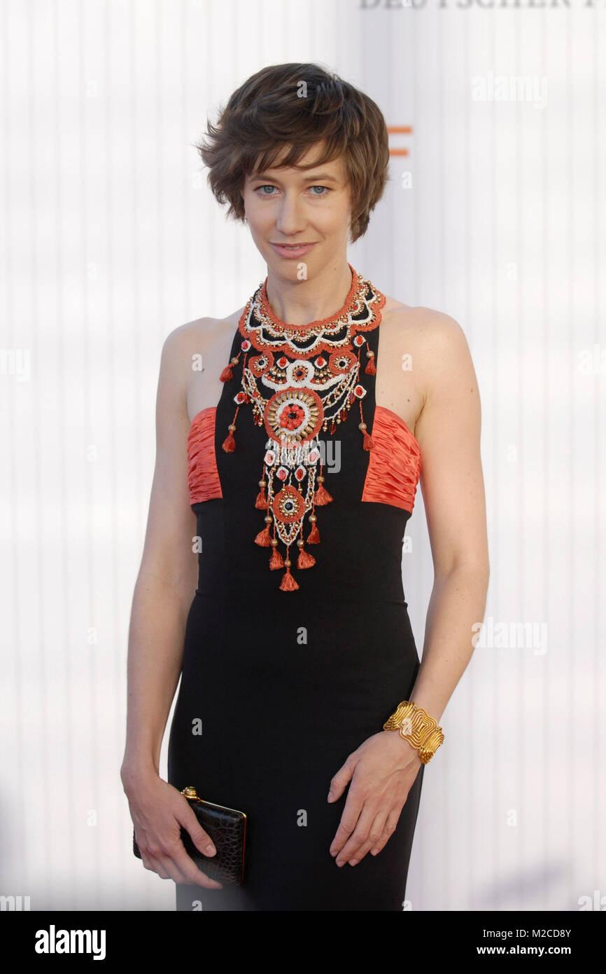 Die Schauspielerin Johanna Wokalek bei der Verleihung des