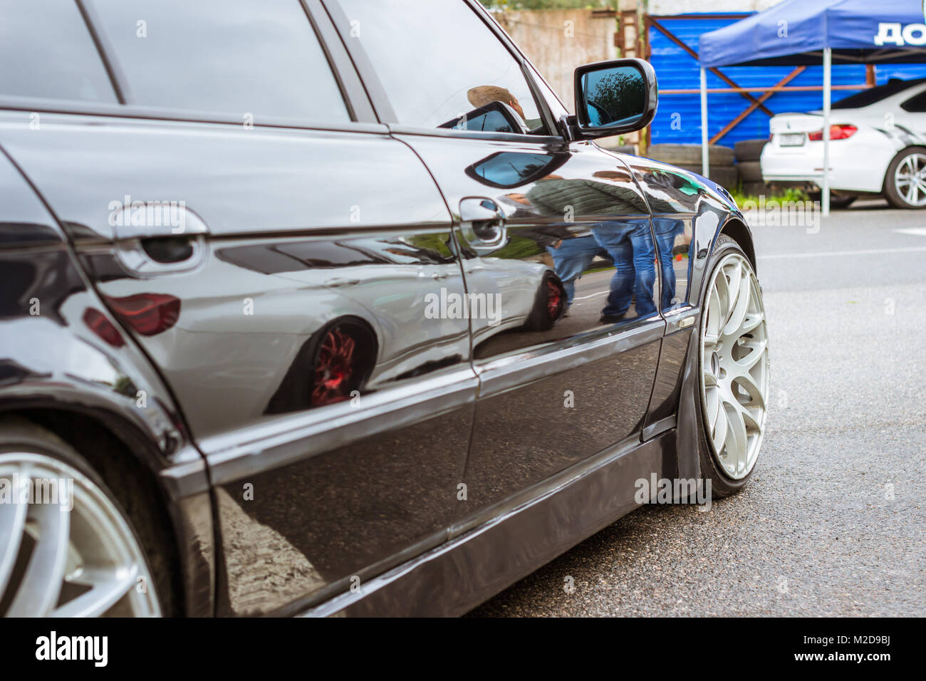 Saint Petersburg, Russia   September 16, 2017: Cars BMW Of Various Series,  Models And Release Years For Lovers Of Rally Car German Bavarian Manufactur