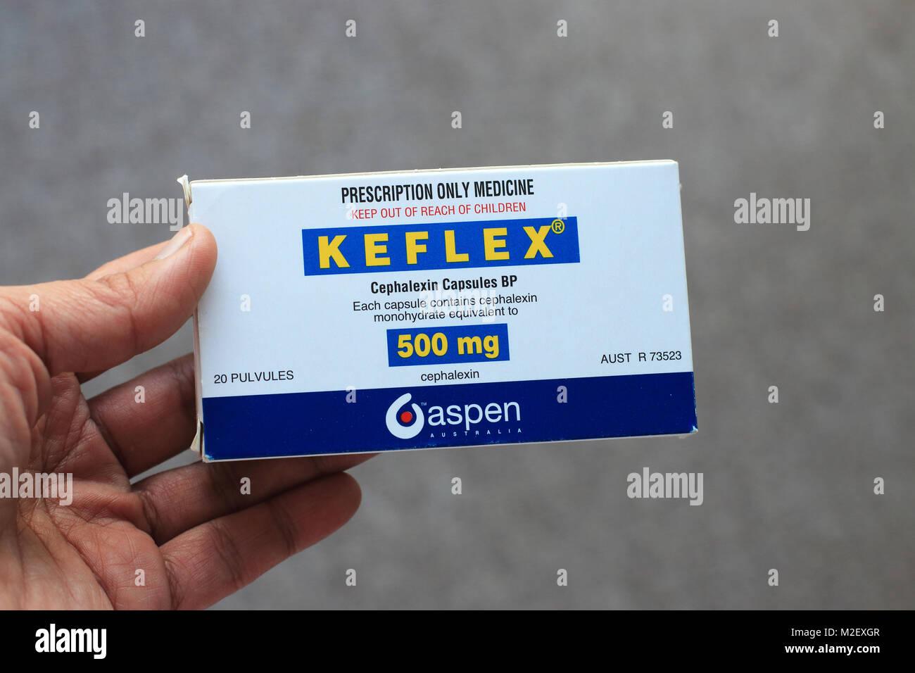 Keflex Cephalexin Capsules Keflex Cephalexin Capsules - Stock Image