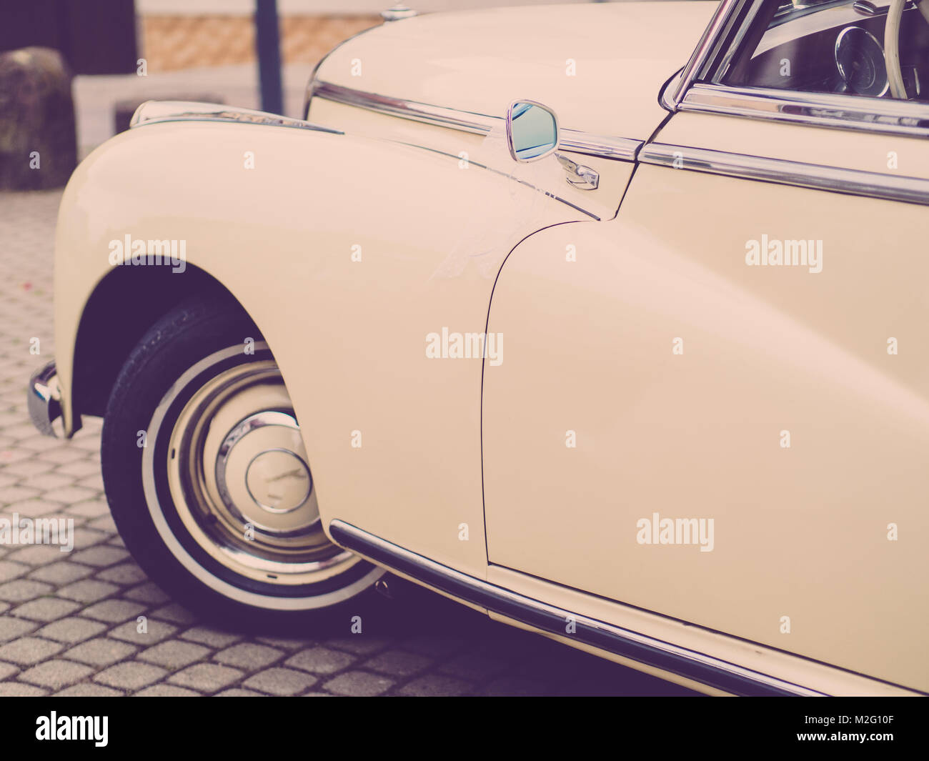the classic car - Stock Image