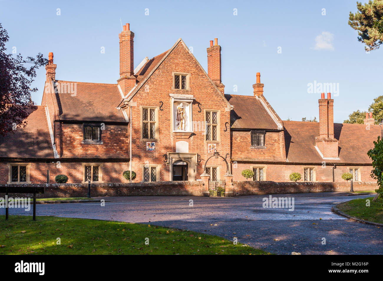Jesus Hospitlal Almshouses, Bray, Berkshire, South East England, GB, UK. - Stock Image