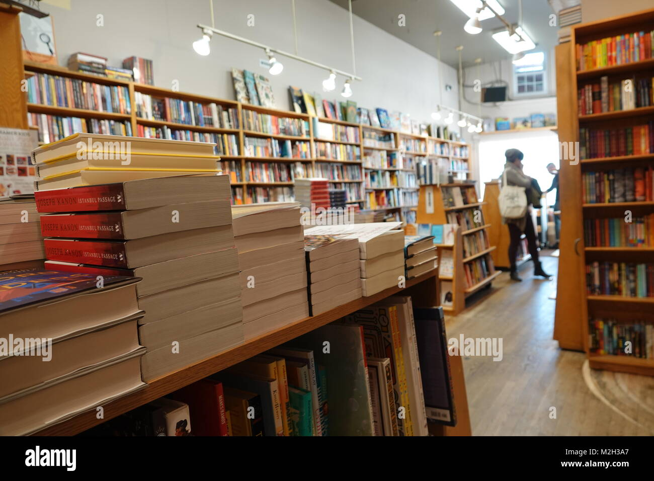 USA Washington DC Books bookstore Kramer Books and Afterwords political and liberal book seller - Stock Image