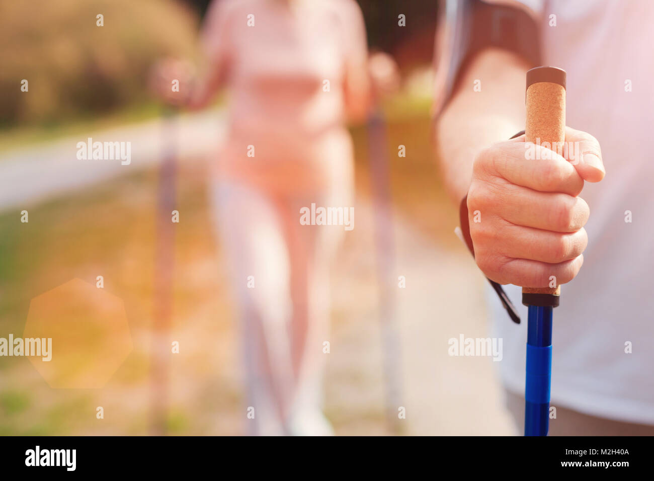 Old Man With Crutch Stock Photos & Old Man With Crutch Stock Images