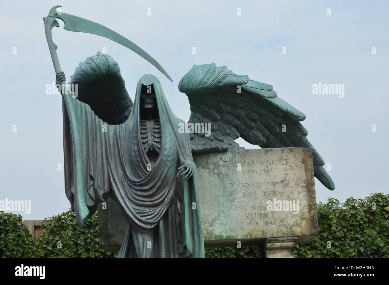 Tom Riddle's resting place - Stock Image