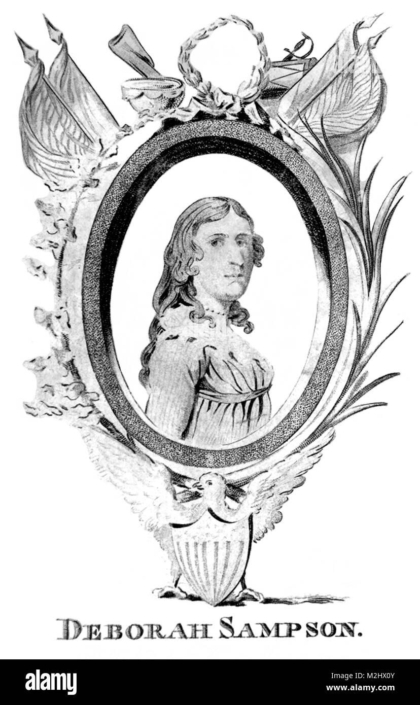 Deborah Sampson, American Cross-Dresser - Stock Image