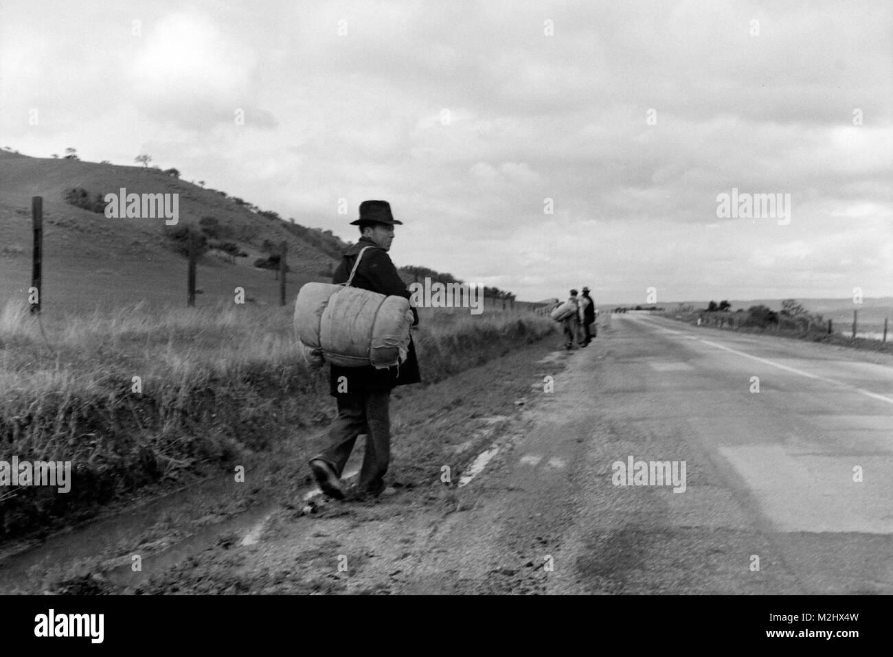 Hobos, 1936 - Stock Image