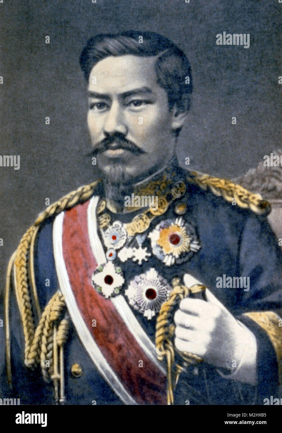 Meiji the Great, Emperor of Japan Stock Photo