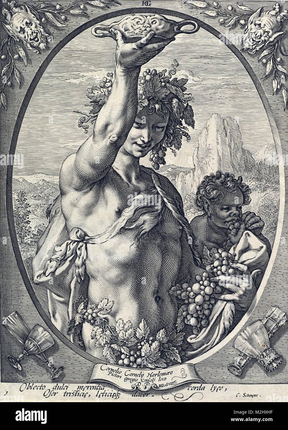 Bacchus Roman God Of Wine Stock Photo 173727051 Alamy
