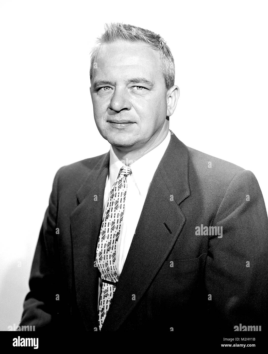 Clyde Cowan, American Physicist - Stock Image