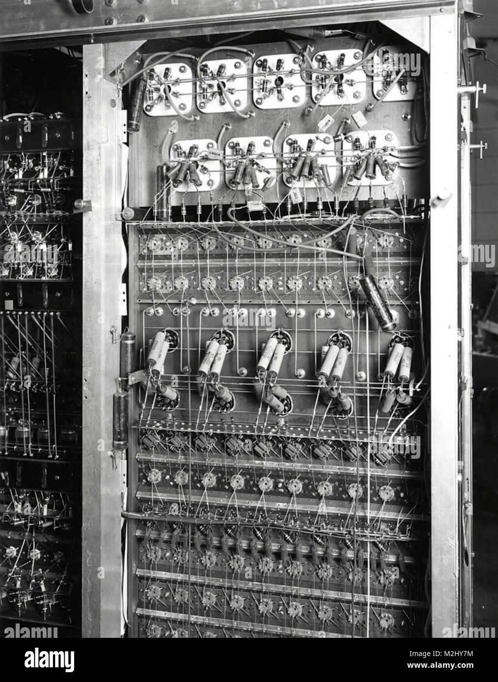 MANIAC-III, Solid State Electronics, 1961 - Stock Image