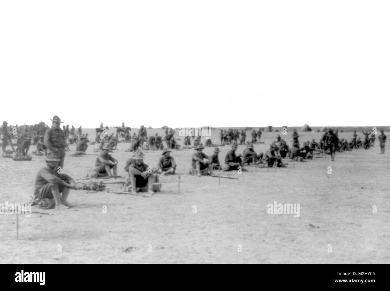 Pancho Villa Expedition, 6th Infantry, 1916 - Stock Image