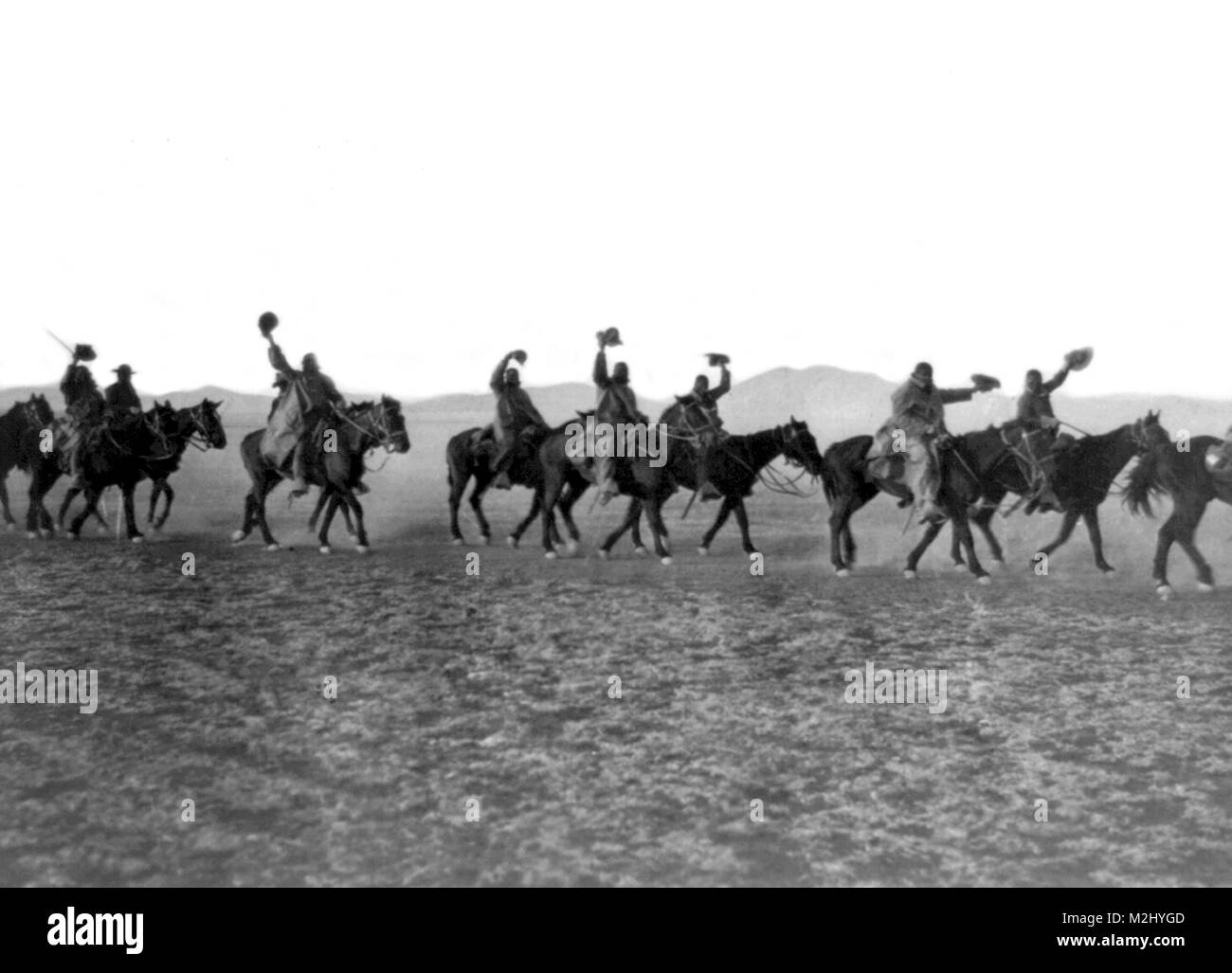 Pancho Villa Expedition, Buffalo Soldiers, 1916 - Stock Image