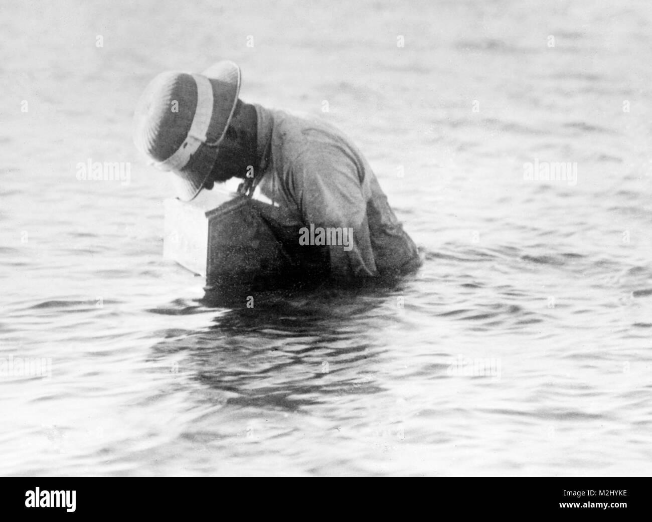 Reighard Sub-aquatic Camera, 1909 - Stock Image