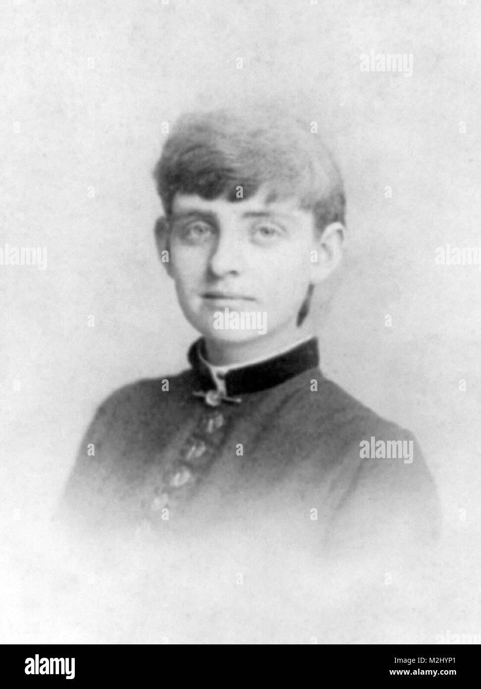 Frances Benjamin Johnston, 1883 - Stock Image