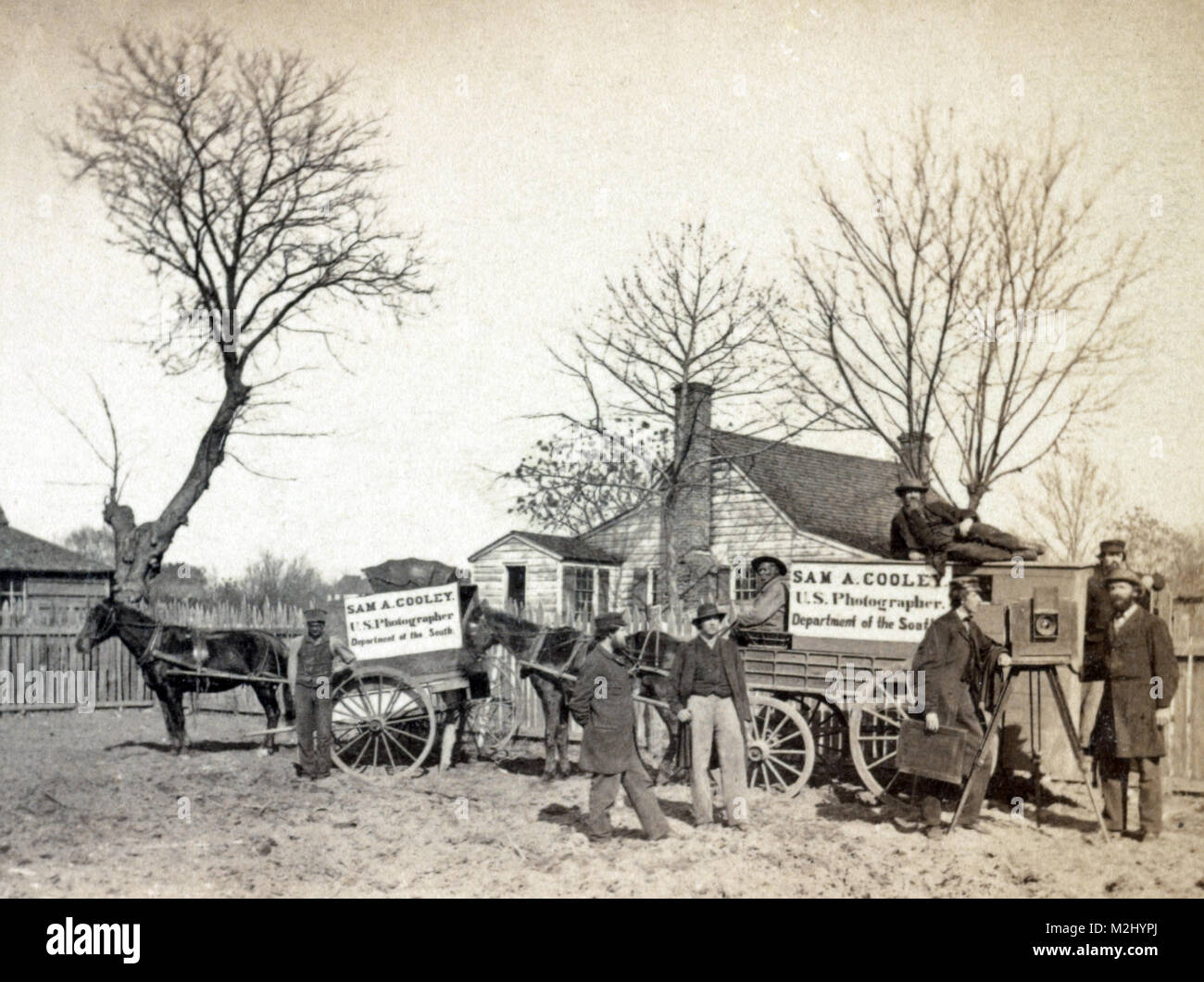 American Civil War, Southern Photography Unit, 1860s - Stock Image