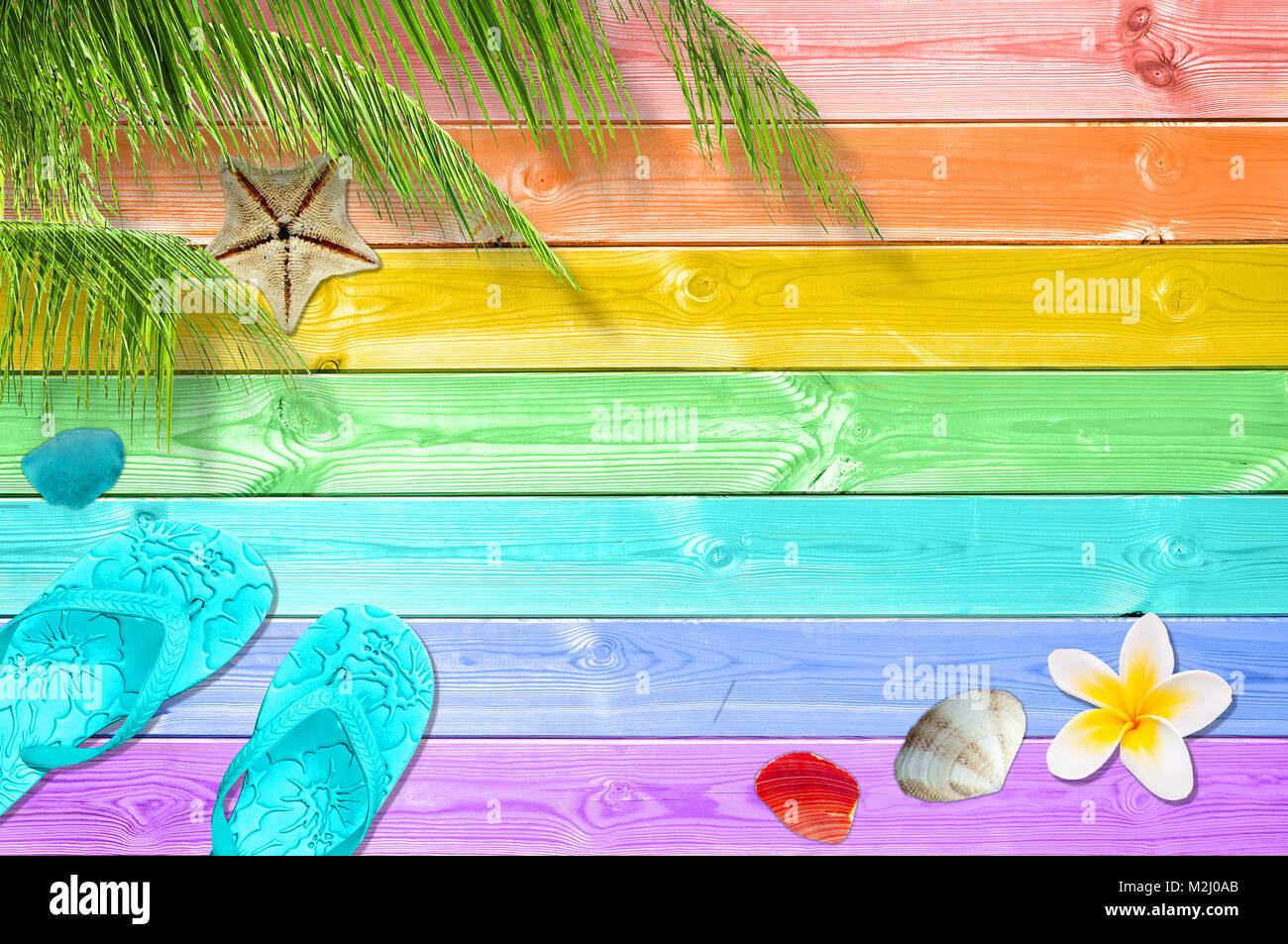 55b12c7e9d635 Summer background with palm trees