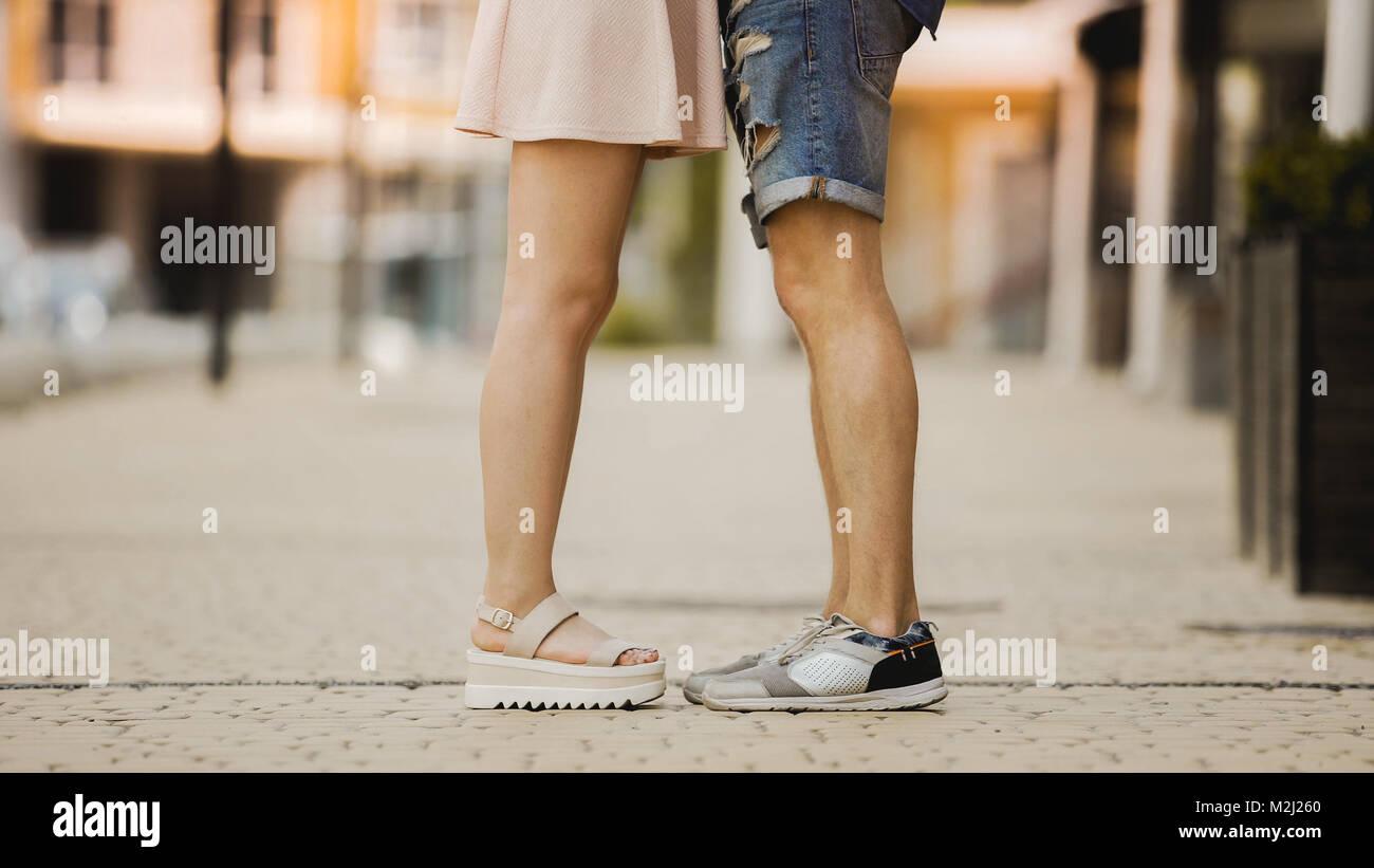 ロマンチックな足