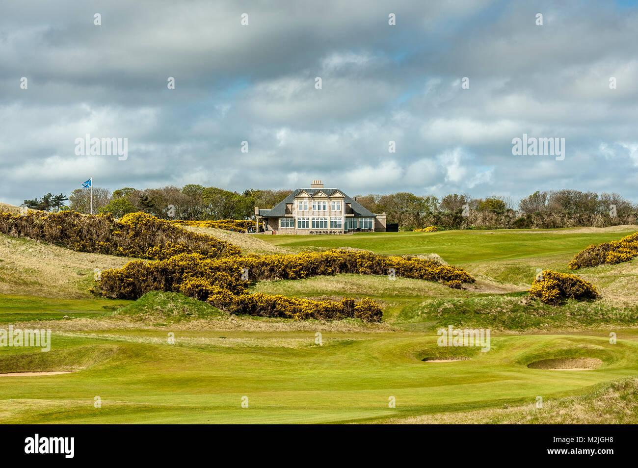 Kingsbarns Golf Links  Fife  St. Andrews Scotland - Stock Image