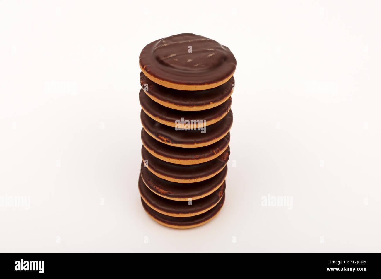 jaffa cakes - Stock Image