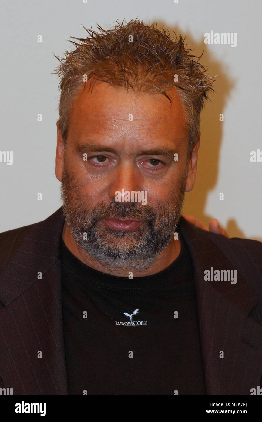 photocall with director luc besson,the secret of the pharaoh Stock Photo