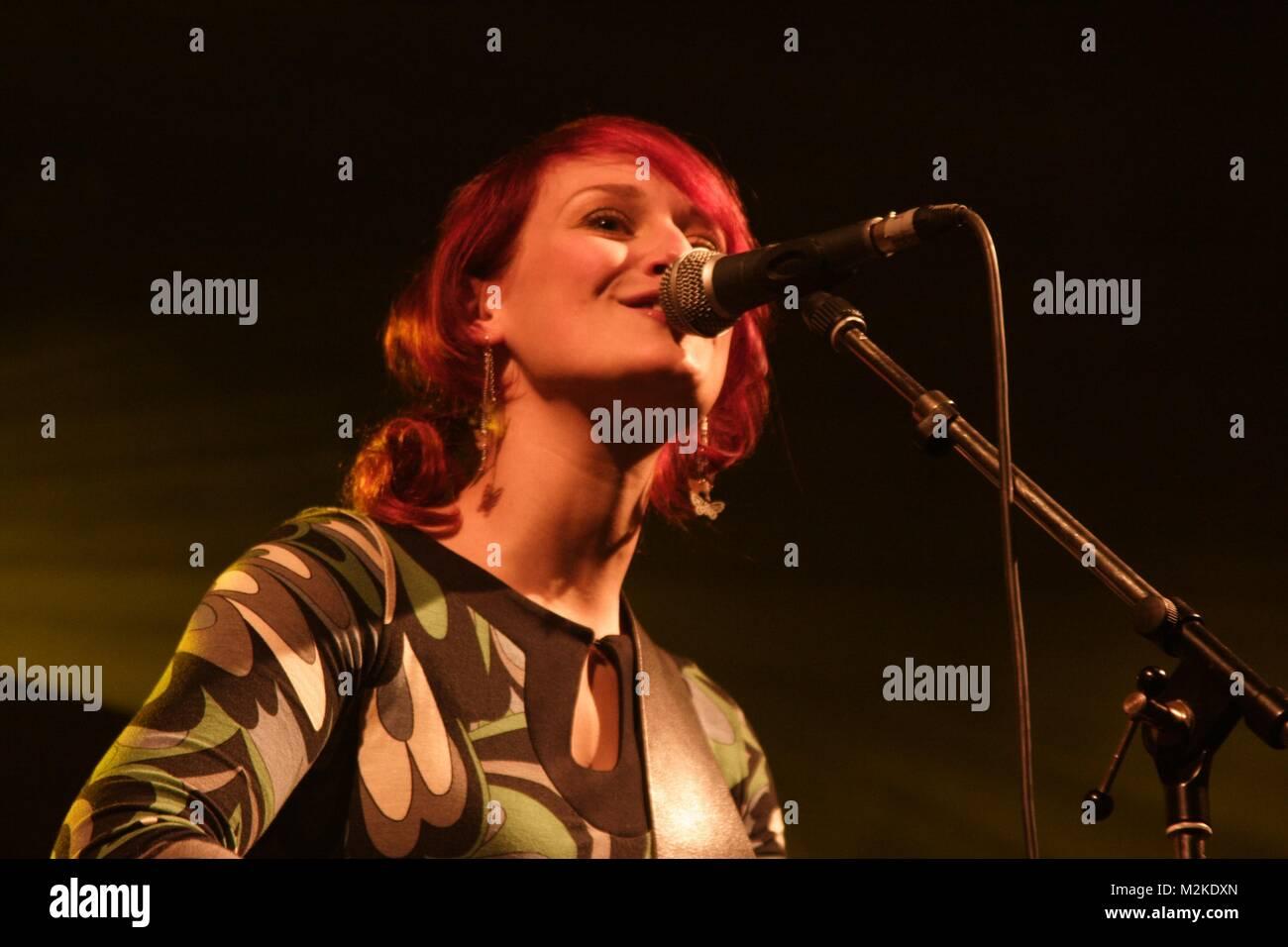diane weigmann live concert columbia halle / b - Stock Image