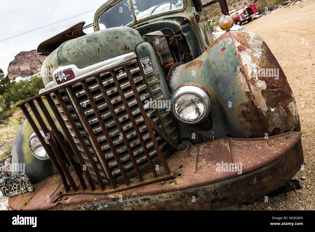 Old Rusty Truck Stock Photos & Old Rusty Truck Stock Images - Alamy