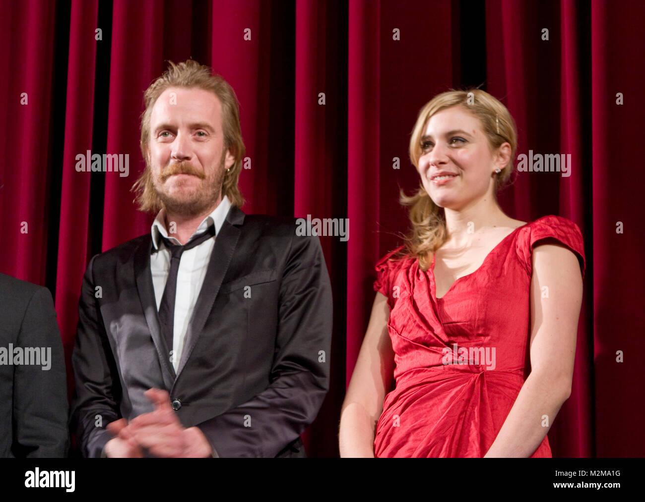 60. Internationale Filmfestspiele Berlin / Berlinale 2010: Rhys Ifans und Greta Gerwig bei der Weltpremiere des - Stock Image