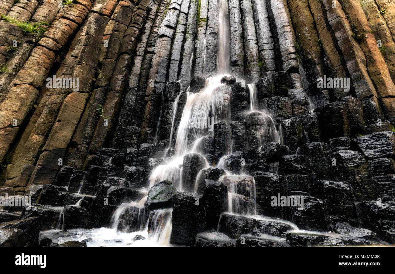Basaltic Natural Prism - Stock Image