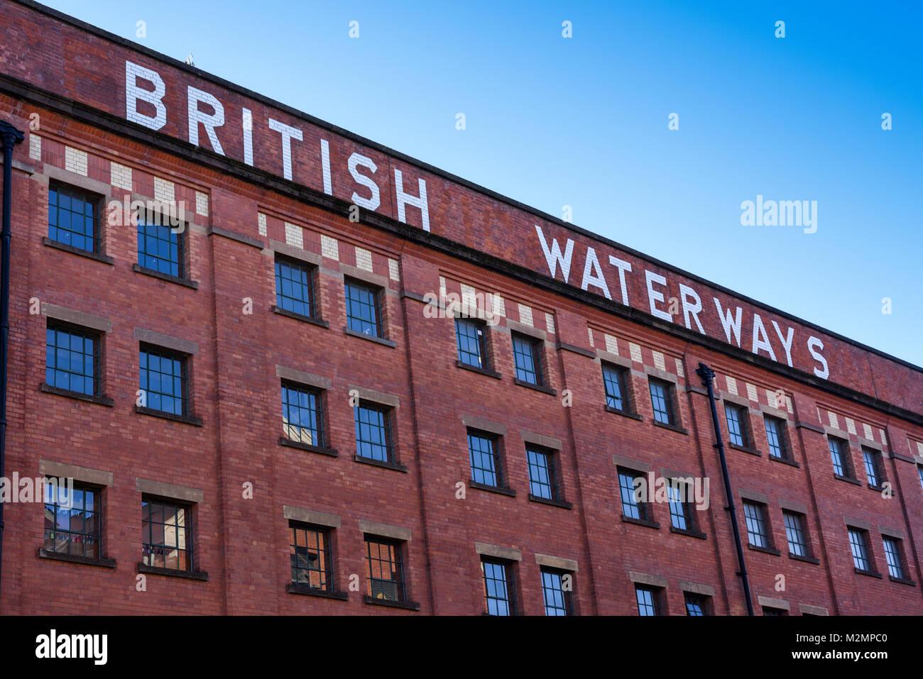 British Waterways in Nottingham,UK. - Stock Image