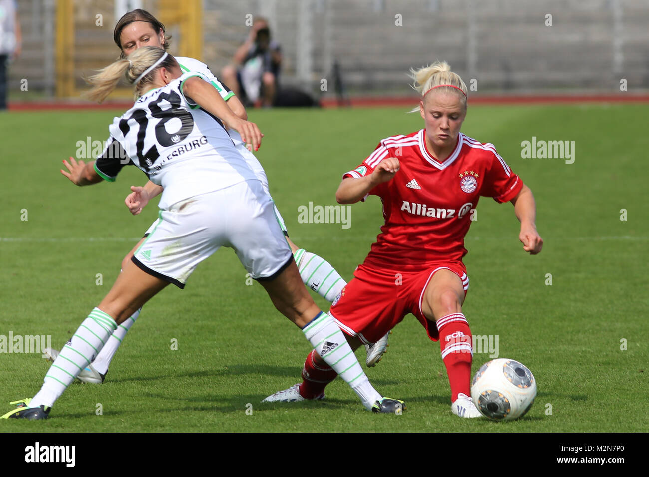 Leonie Maier (FC Bayern München) - Stock Image