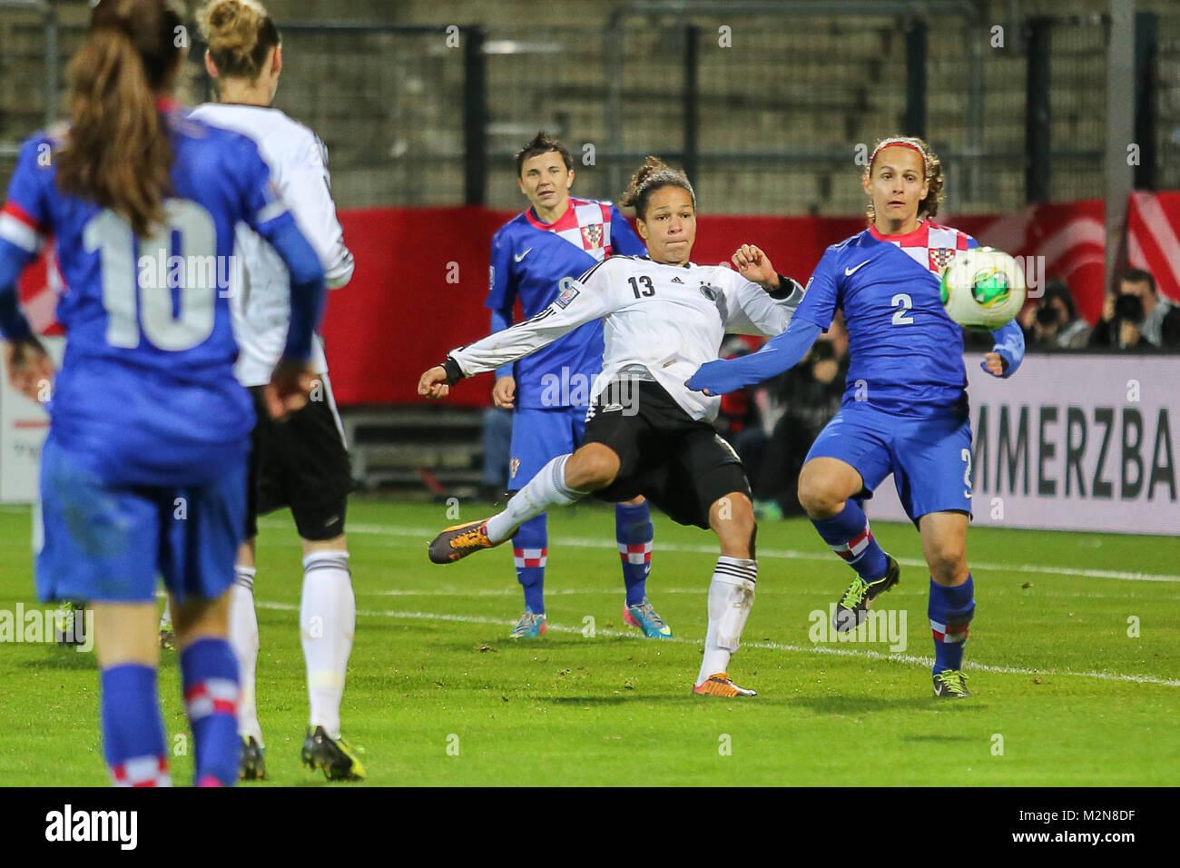 Fussball Frauen Wm Qualifikation Deutschland Kroatien