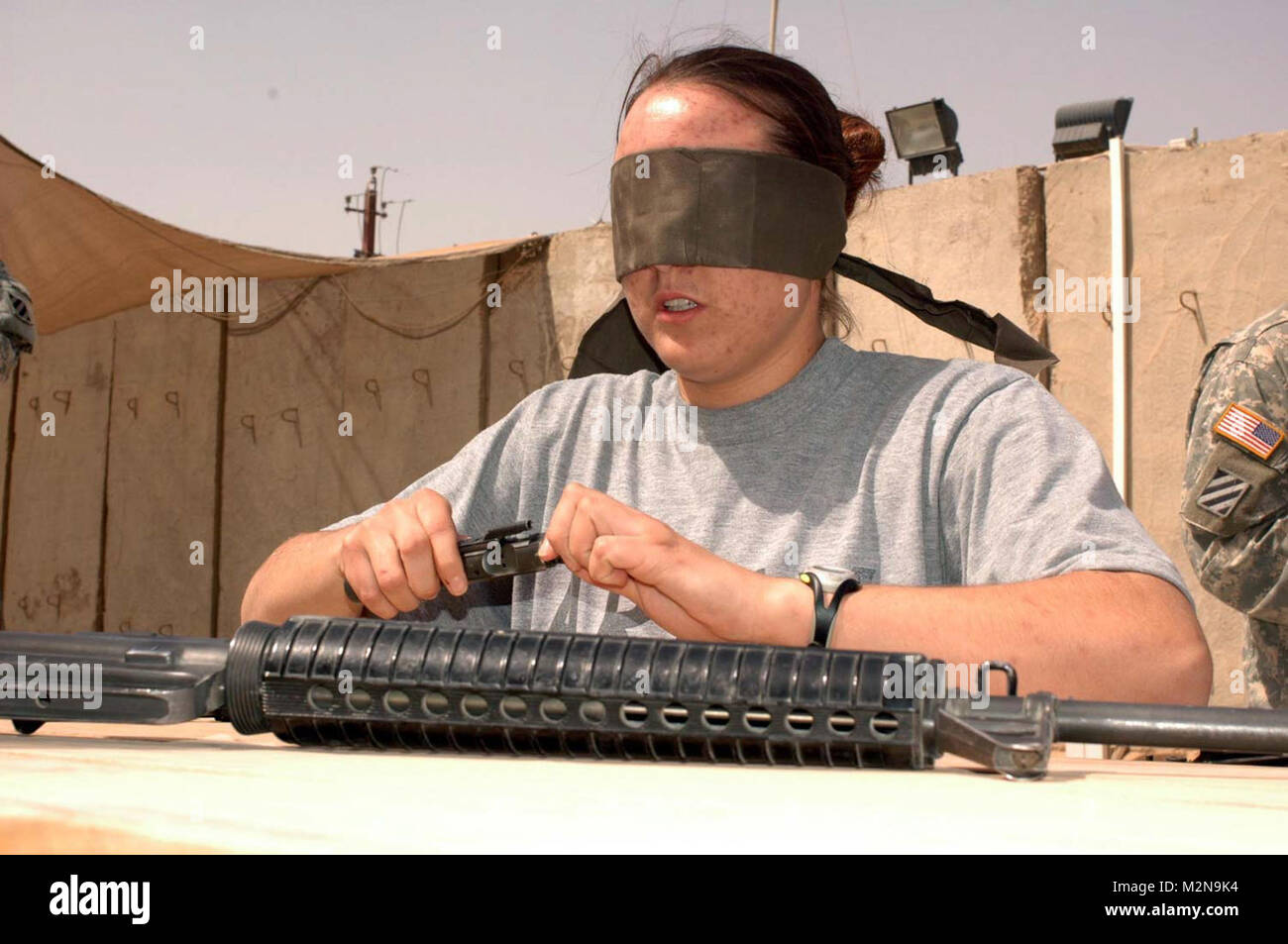 Eyes Wide Shut by United States Forces - Iraq (Inactive) - Stock Image