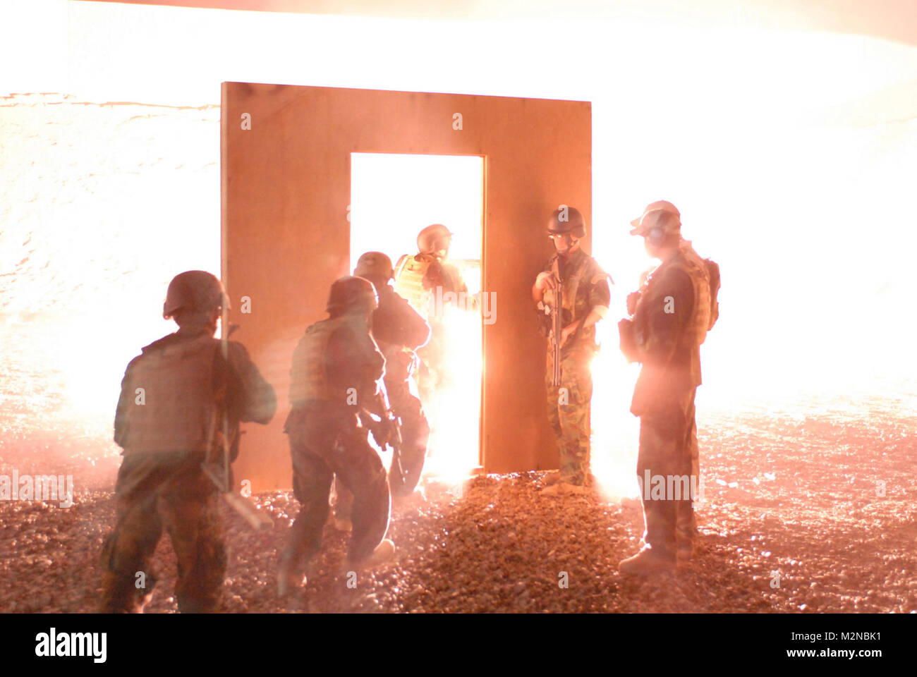 Guiding Light by United States Forces - Iraq (Inactive) - Stock Image