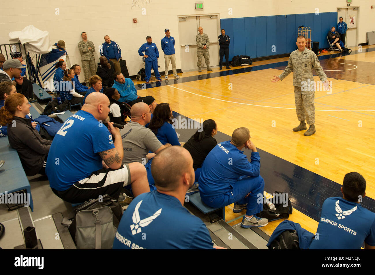 SJO-183 by Air Force Wounded Warrior - Stock Image