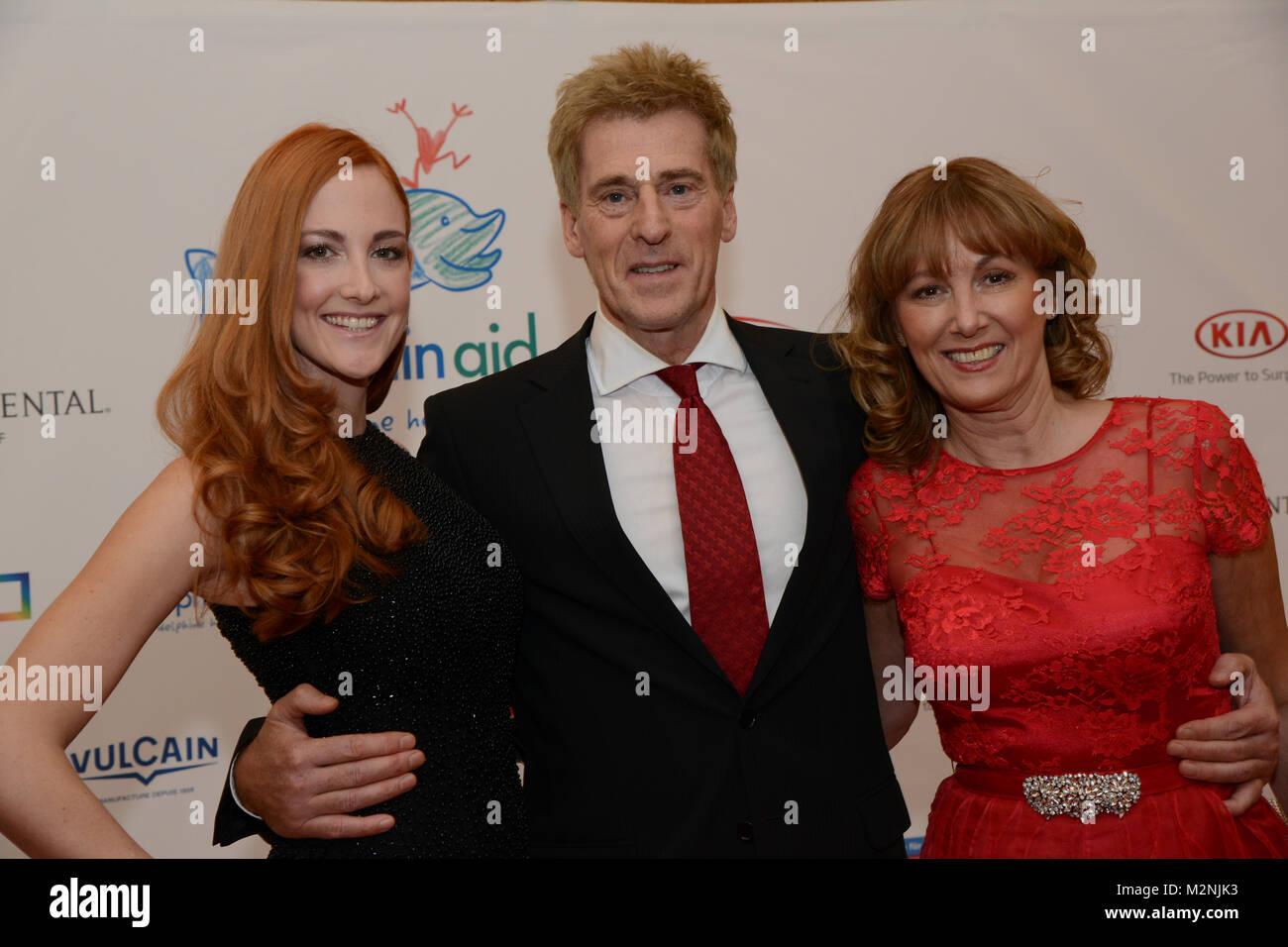Uli Stein mit seiner Ehefrau und Tochter Jennifer Stein