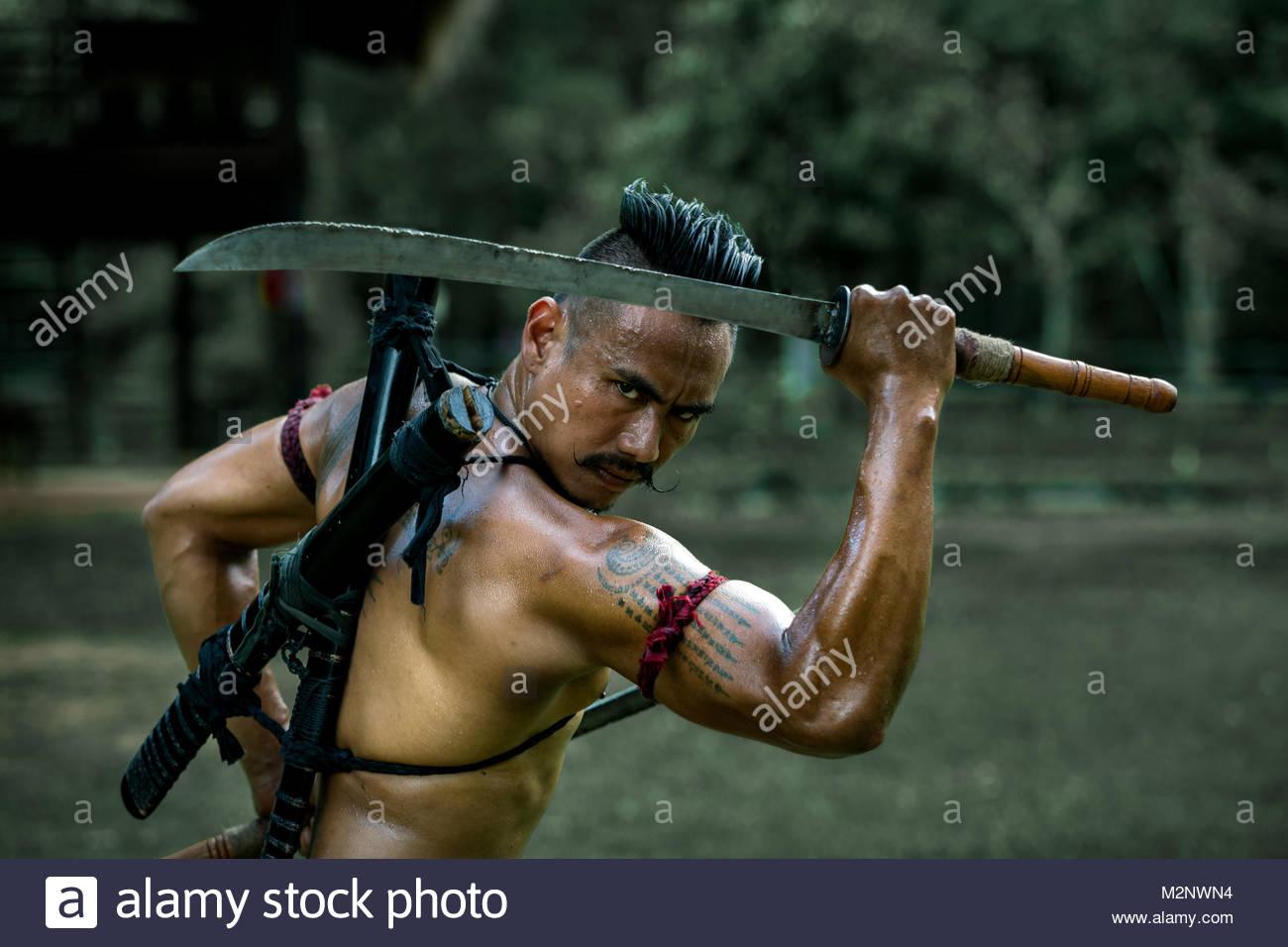 warrior - Stock Image