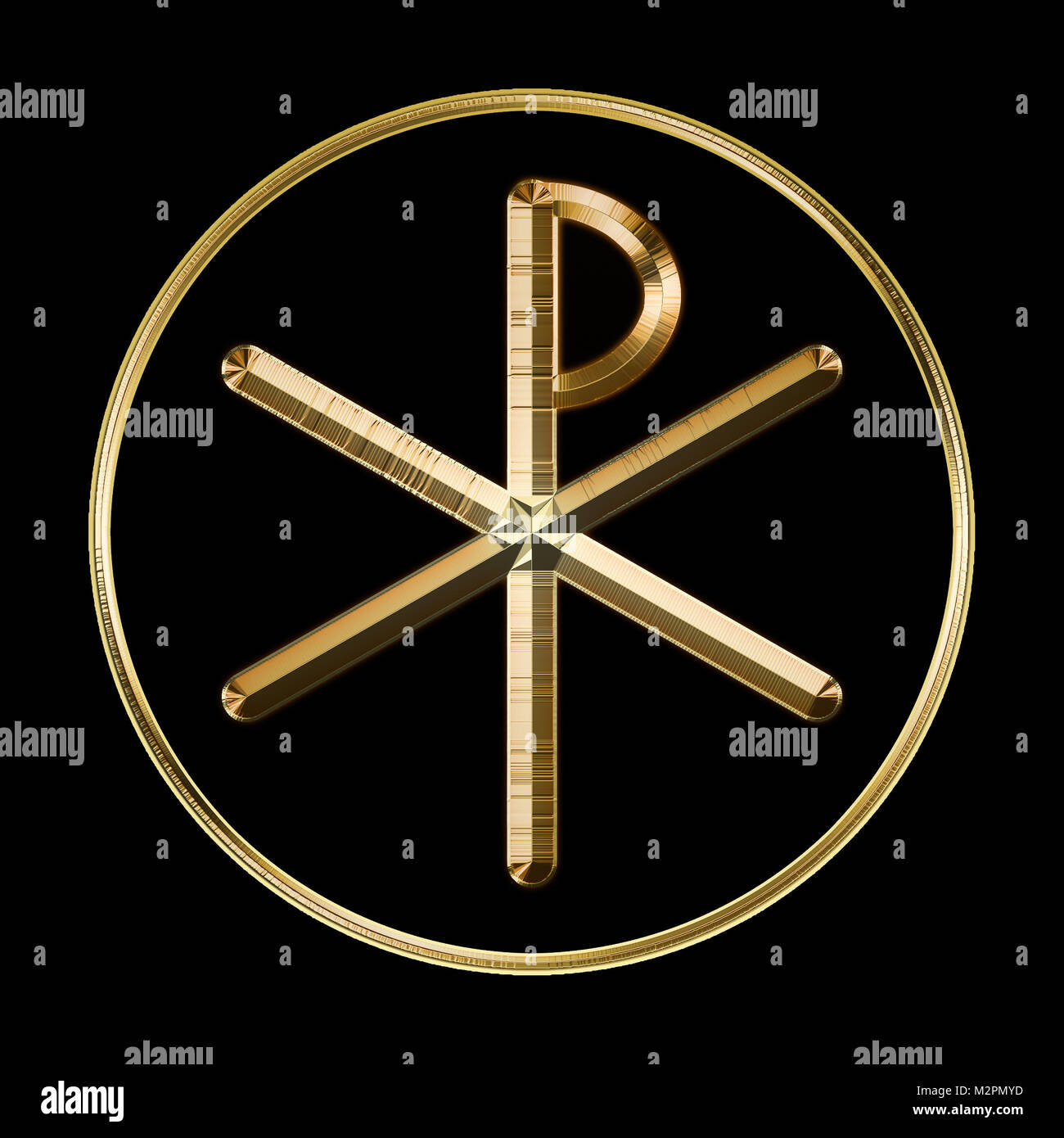 Ancient symbols stock photos ancient symbols stock images alamy the ancient christian chi rho symbol from the first two letters of christ biocorpaavc Choice Image