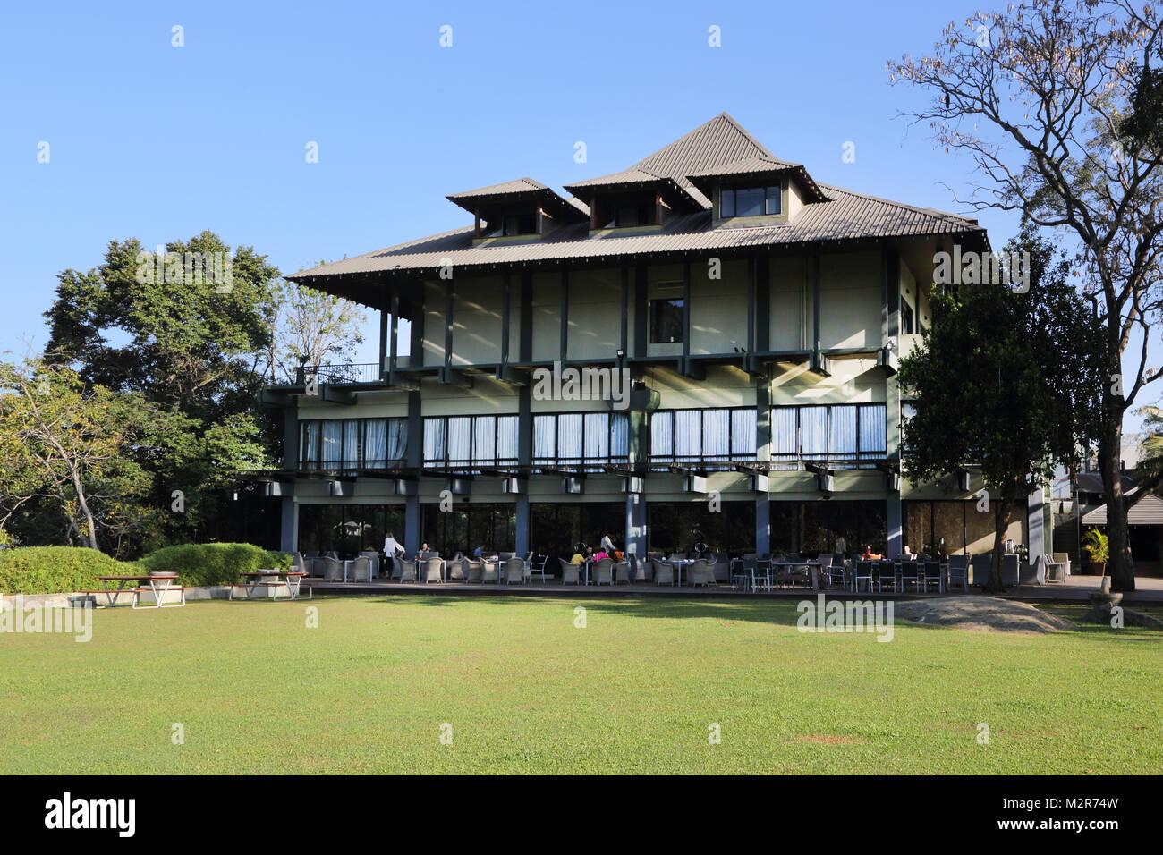 Peradeniya Kandy Central Province Sri Lanka Peradeniya Royal Botanic Gardens Cafe - Stock Image