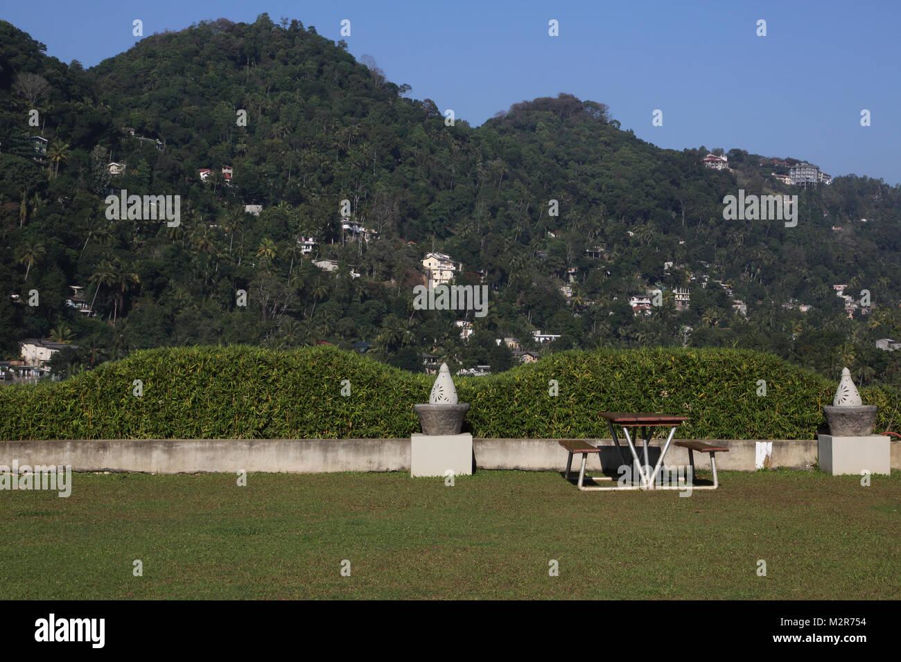 Peradeniya Kandy Central Province Sri Lanka Peradeniya Royal Botanic Gardens - Stock Image
