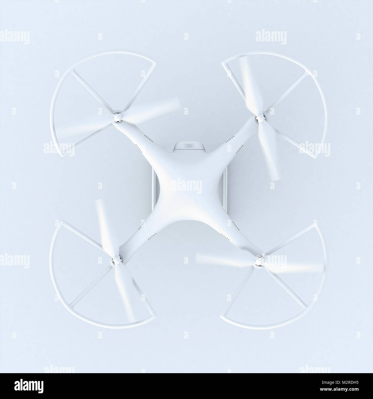 [M] CGI, 3-D, computer graphics of a polygon model, drone - Stock Image